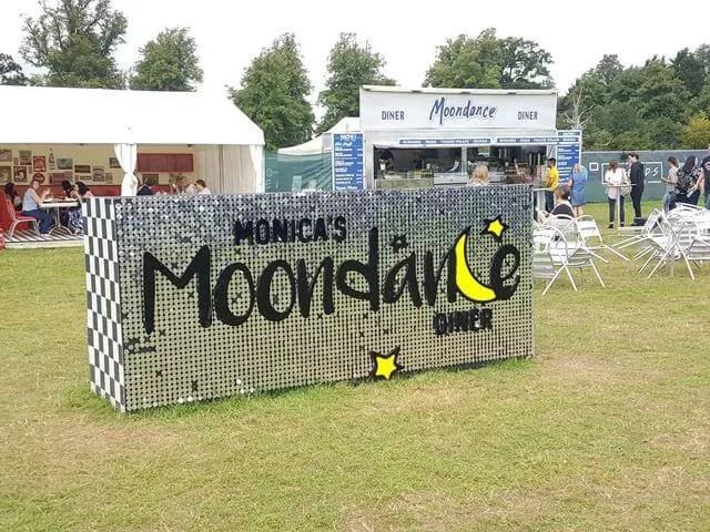 Monicas moondance diner sign