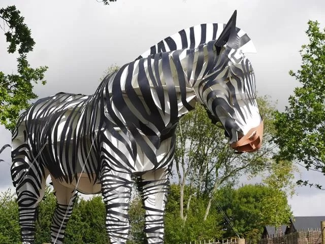 My Sunday Photo - zebra sculpture