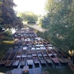 My Sunday Photo – punts in Oxford
