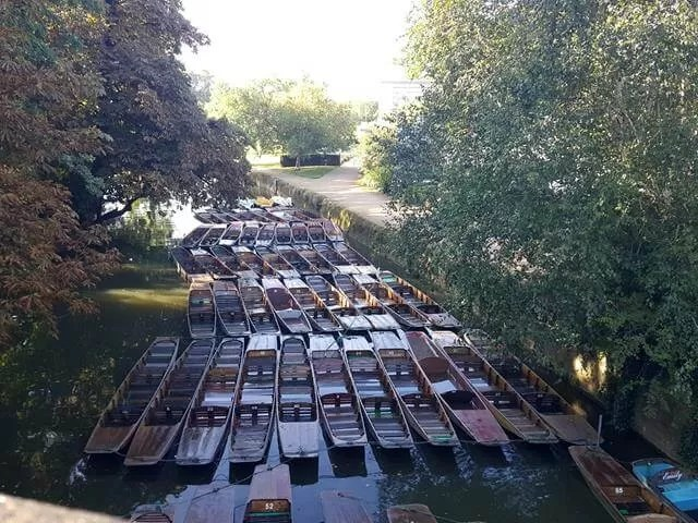 My sunday Photo - punts in Oxford