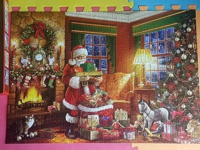 Falco Santas Little Helpers jigsaw puzzle