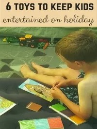 entertain kids on holiday