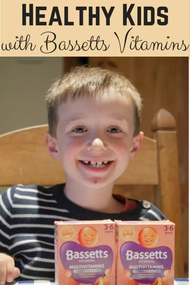 Bassetts vitamins for healthy kids - Bubbablue and me