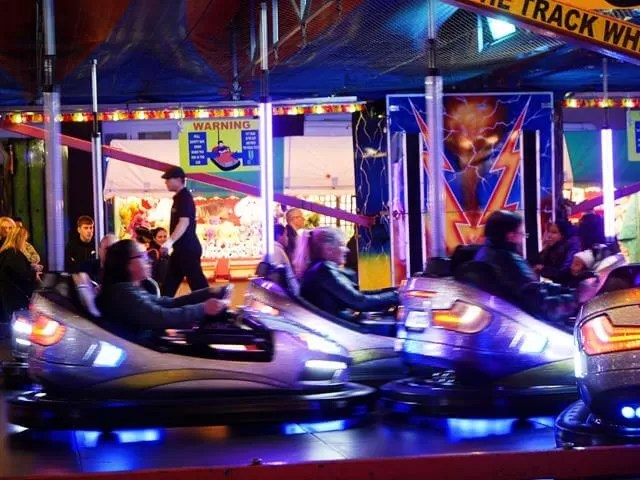 My Sunday Photo - Banbury Michaelmas fair dodgems