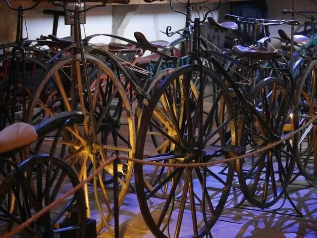 bike collection at snowshill manor