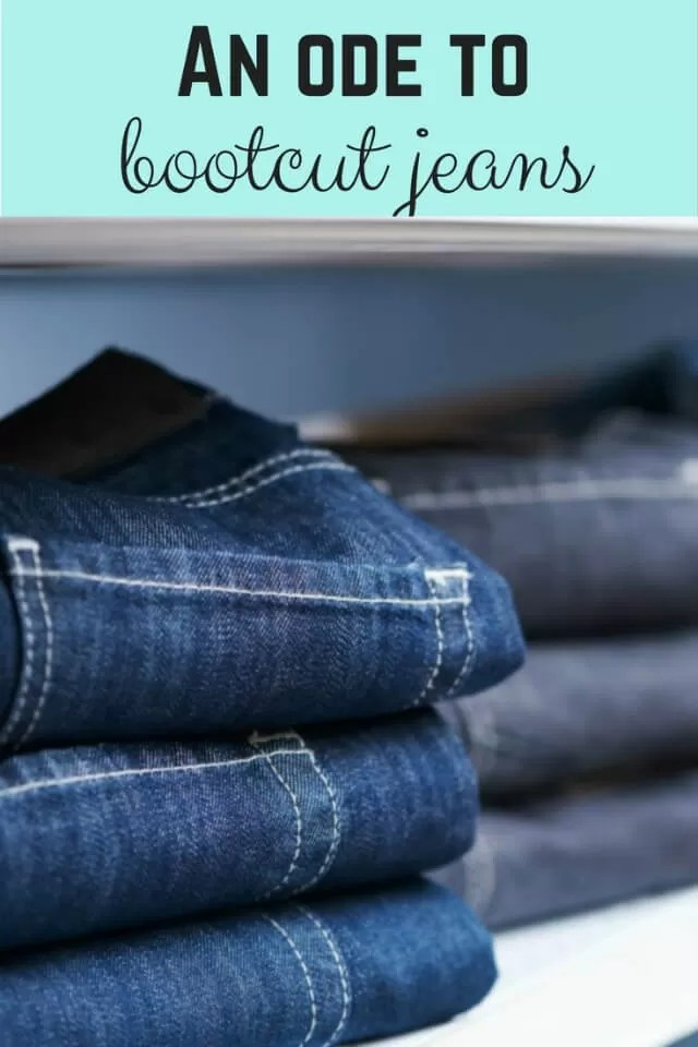 an ode to bootcut jeans - Bubbablue and me