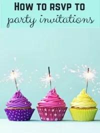 rsvp to invites