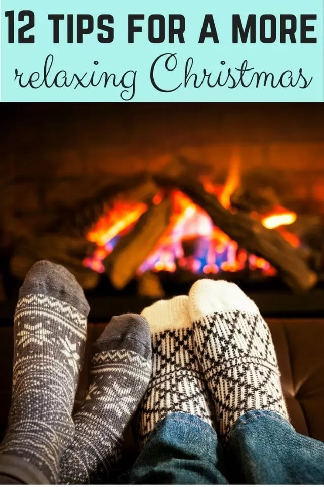 12days have a more relaxing christmas- Bubbablue and me