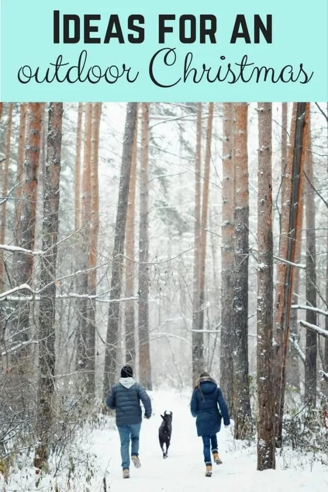 12days - ideas for outdoor Christmas activities - Bubbablue and me