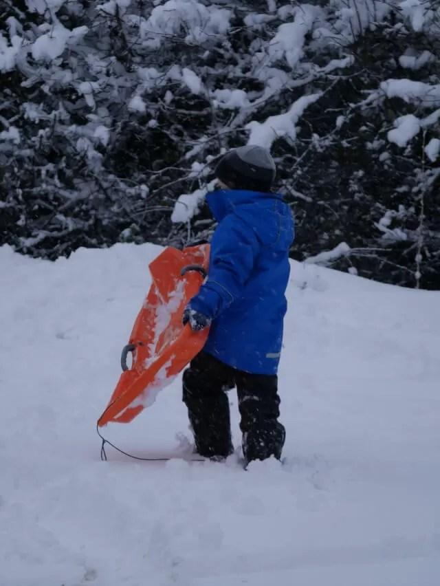 sledging trespass coats