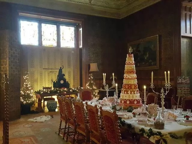12 days of christmas cake at charlecote