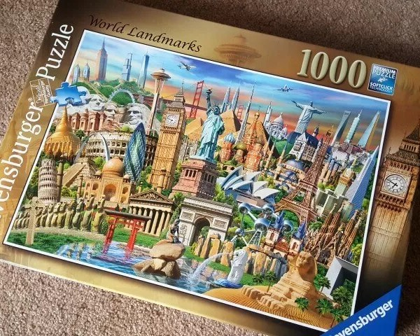 Ravensburger World Landmarks jigsaw puzzle