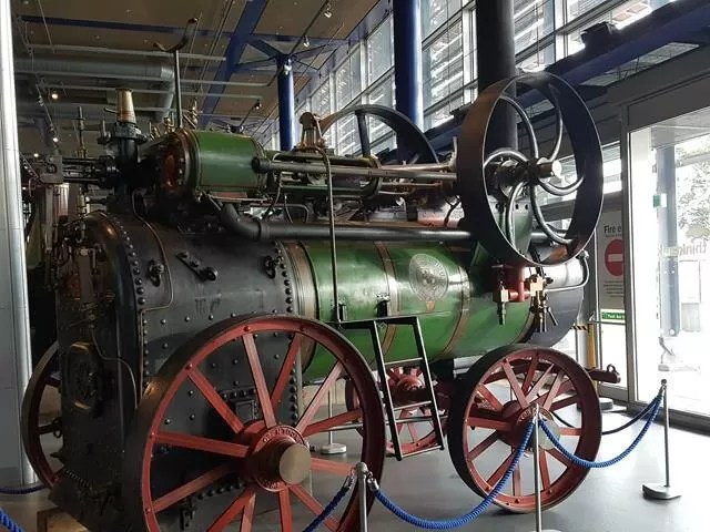 steam engines at think tank