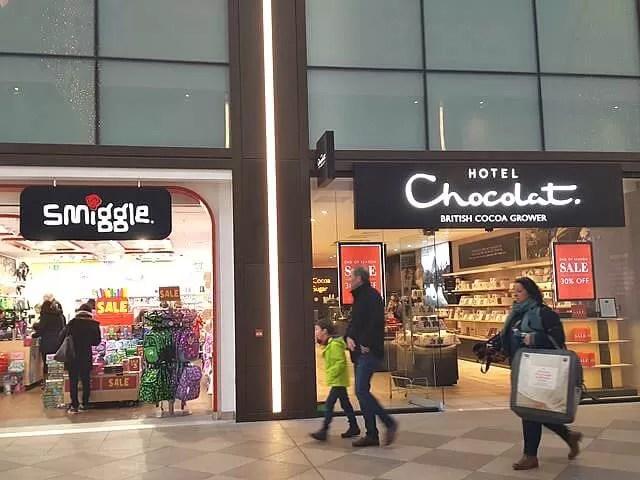 westgate oxford shops