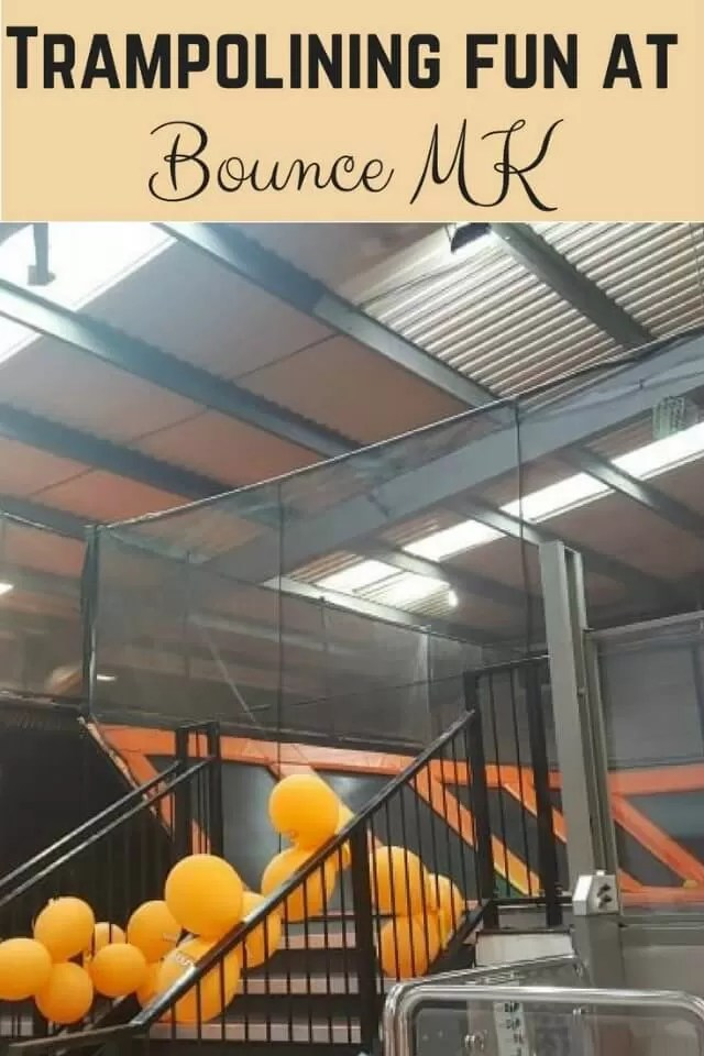 Bounce MK trampolining park - Bubbablue and me