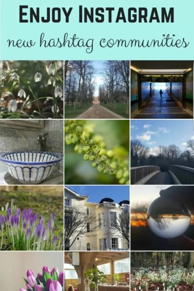 Enjoy instagram again new # communities - Bubbablue and me