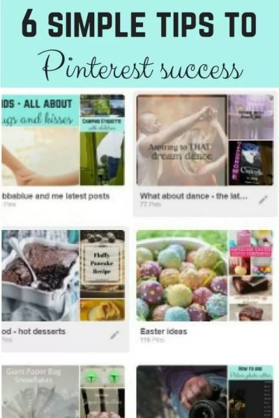 How to have pinterest success - Bubbablue and me
