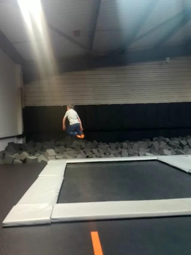Milton keynes bounce foam pit