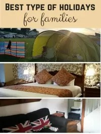 types of family holiday