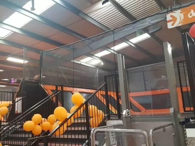 dodgeball at milton keynes bounce