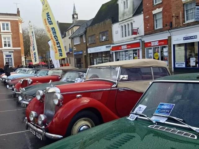rallye monte carlo historique cars in Banbury
