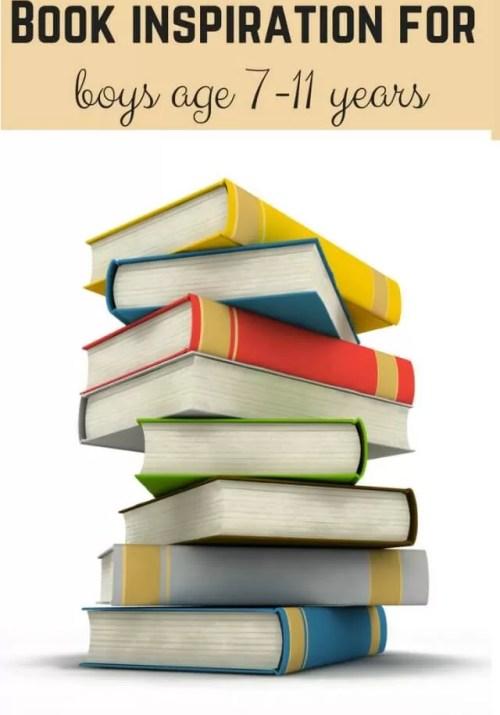 reading book ideas for 7-11 years - bubbablueandme