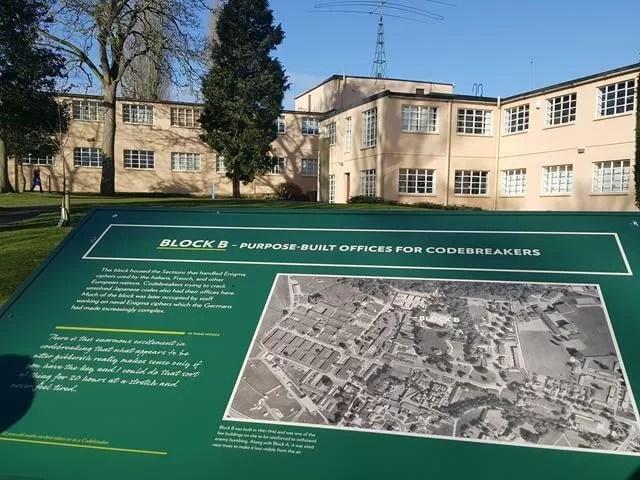 Bletchley park map