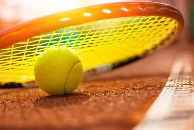 tennis racquet and ball - school days