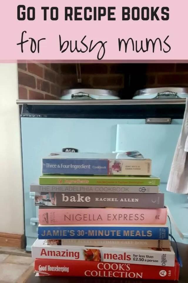 Go to recipe books - Bubbablue and me