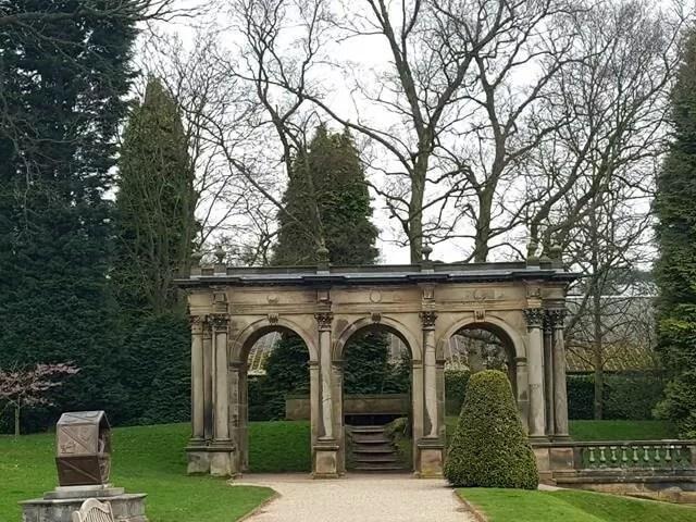 archways at trentham gardens