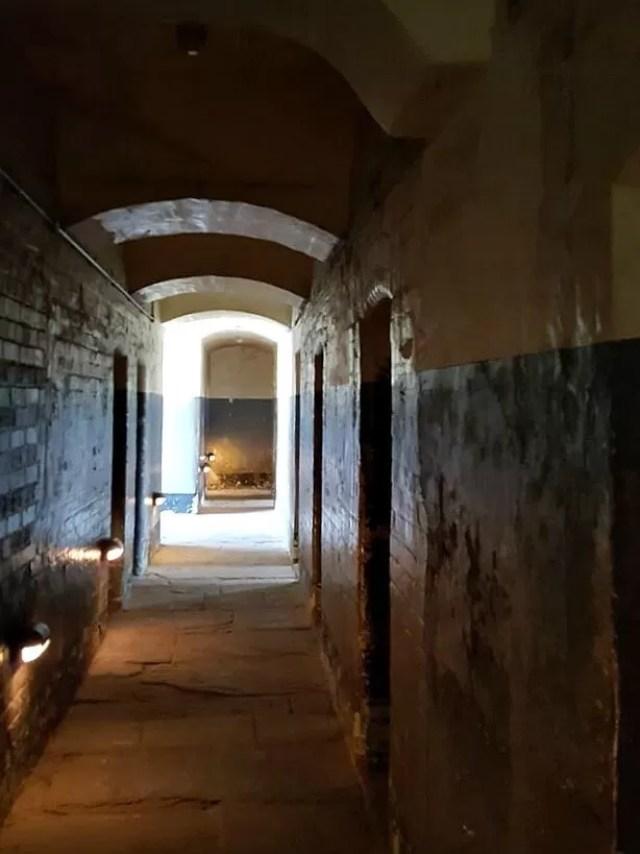 prison cell coridors