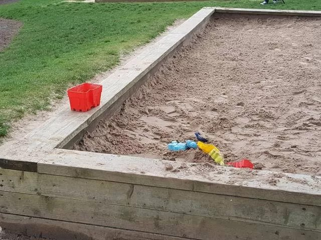 sandpit at trentham