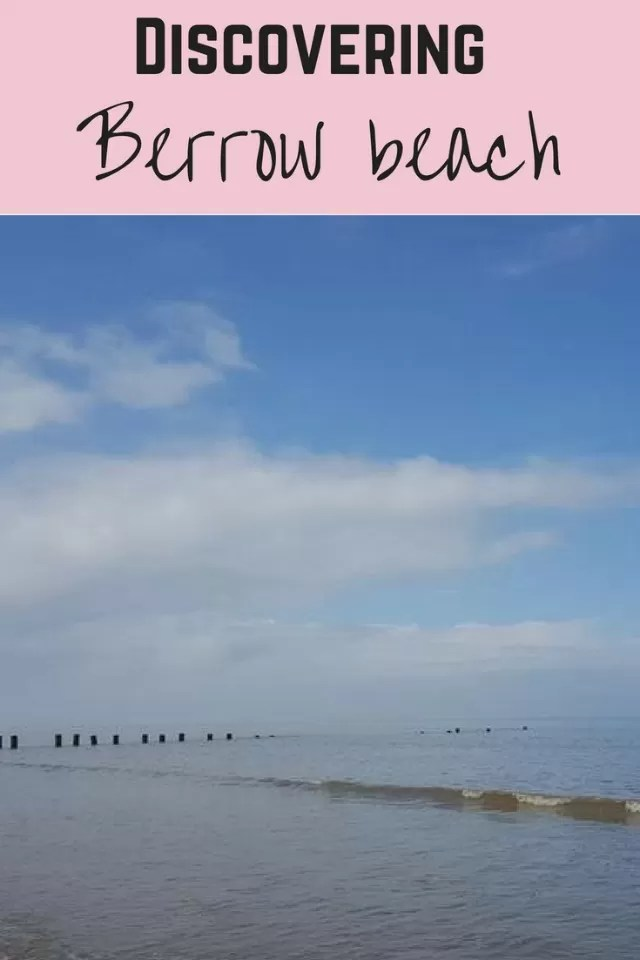 Berrow beach - Bubbablue and me