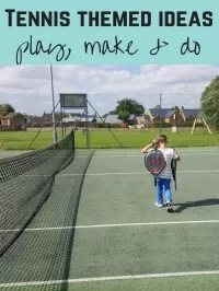 tennis themed activities
