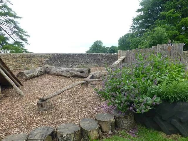 outdoor play area at dyrham park