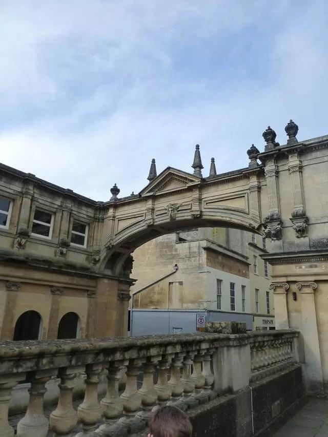 overlooking bath arhways