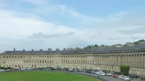Royal Crescent and Royal Victoria Park Bath itinerary