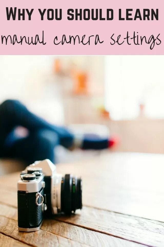 learn manual camera settings