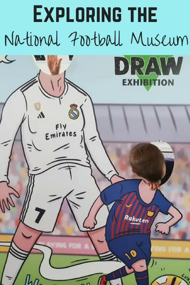 National Football Museum - Bubbablue and me