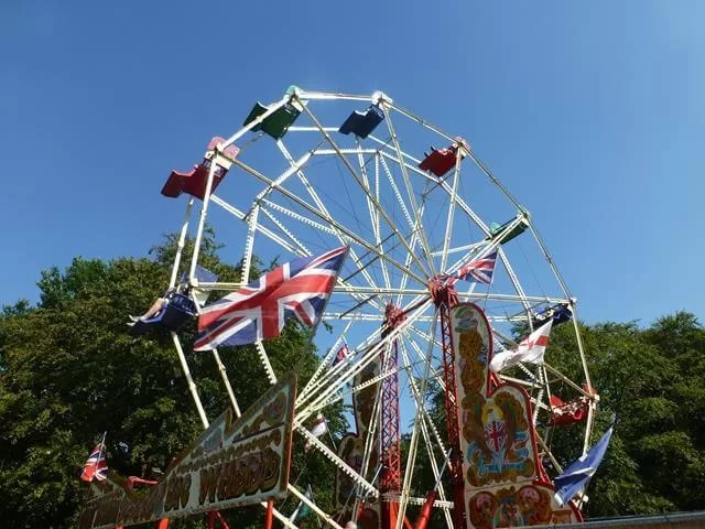 big wheel at cbbc summer social