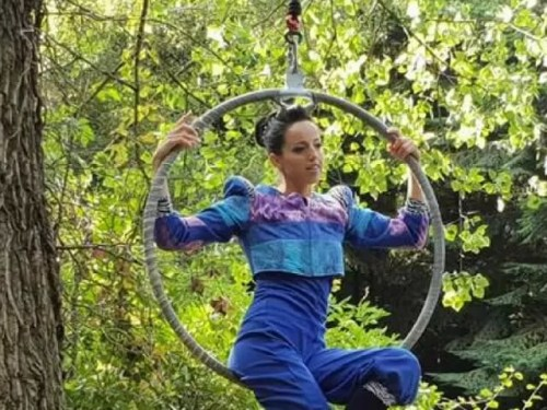 canopy show at evenley wood garden - Bubbablue and me