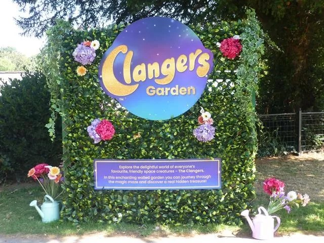 clangers walled garden