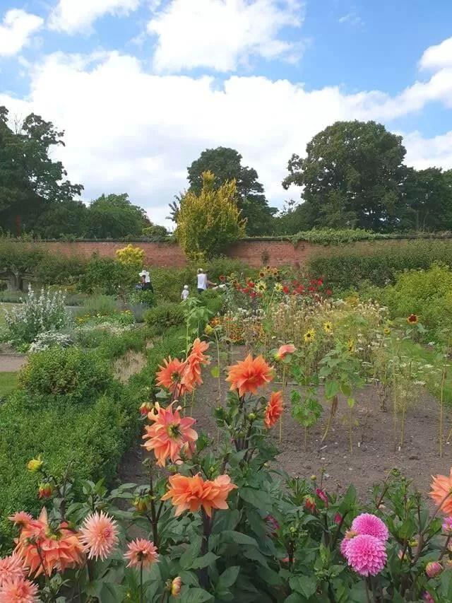 garden at croxteth hall
