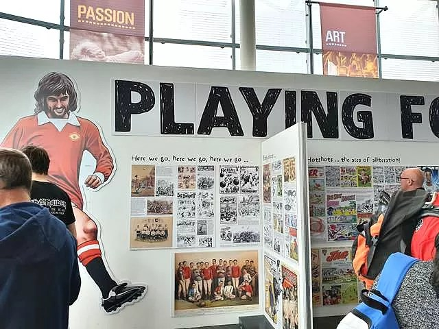 history of football display