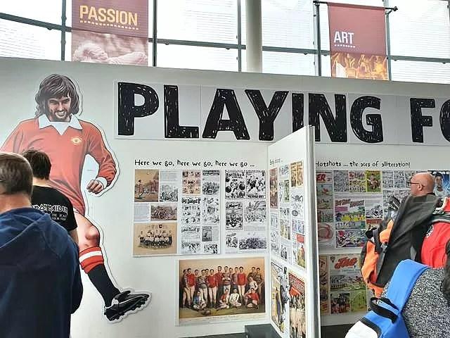 history of football display