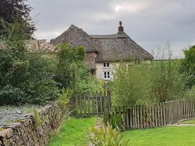 farmhouse garden view