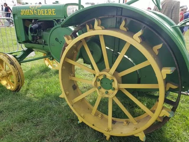 old john deere wheels