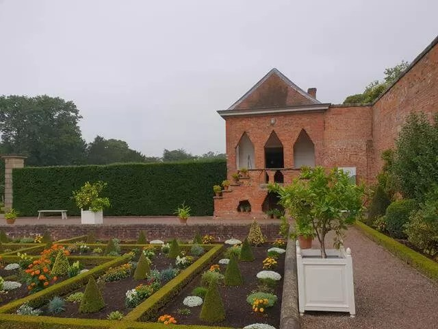 parterre at hanbury hall