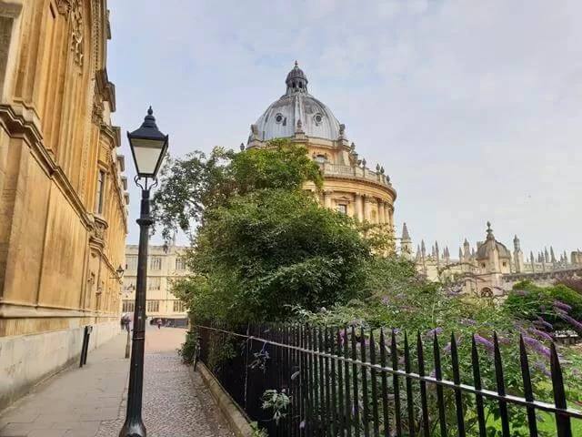 view of radcliffe camera