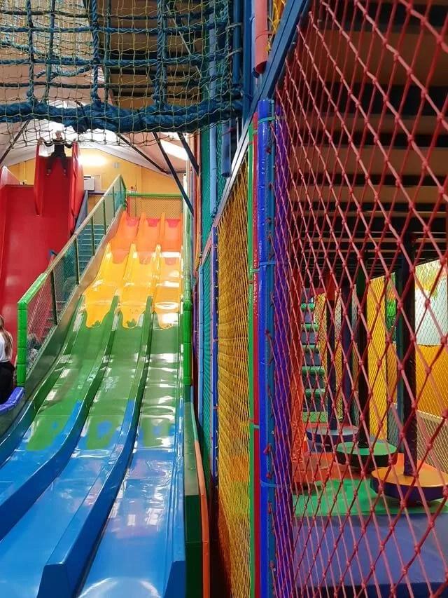 colourful slides at woburn